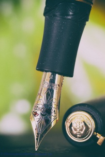 Visconti Homo Sapiens Lava, Nib-detail and cap