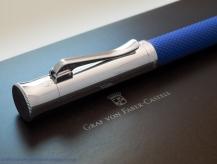 Graf von Faber-Castell Guilloche, blue